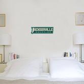 6 in x 1 ft Fan WallSkinz-Jacksonville Dolphins Word Mark