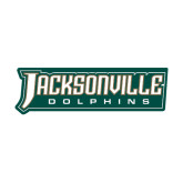 Large Decal-Jacksonville Dolphins Word Mark, 12 inches wide