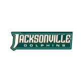 Small Decal-Jacksonville Dolphins Word Mark, 6 inches wide