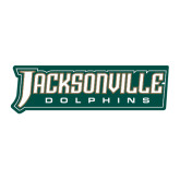 Extra Large Decal-Jacksonville Dolphins Word Mark, 18 inches wide