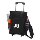 30 Can Black Rolling Cooler Bag-JU