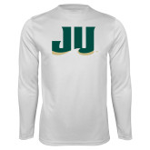 Performance White Longsleeve Shirt-JU