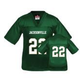 Youth Replica Dark Green Football Jersey-#22