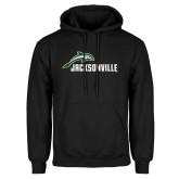 Black Fleece Hoodie-Dolphin Jacksonville