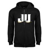 Black Fleece Full Zip Hoodie-JU