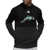 Adidas Black Team Issue Hoodie-Dolphin
