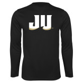 Performance Black Longsleeve Shirt-JU