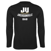 Performance Black Longsleeve Shirt-Dad
