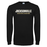 Black Long Sleeve T Shirt-Cheerleading