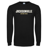 Black Long Sleeve T Shirt-Rowing