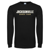 Black Long Sleeve T Shirt-Dance Team