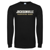 Black Long Sleeve T Shirt-Marching Band