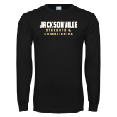 Black Long Sleeve T Shirt-Strenght and Conditioning