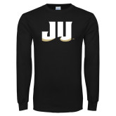 Black Long Sleeve T Shirt-JU