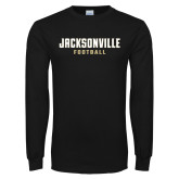 Black Long Sleeve T Shirt-Football