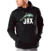 Under Armour Black Armour Fleece Hoodie-Dolphin JAX