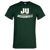 Dark Green T Shirt-Primary Logo