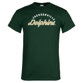 Dark Green T Shirt-Script