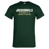 Dark Green T Shirt-Strenght and Conditioning