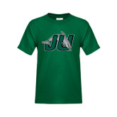 Youth Dark Green T Shirt-Official Logo