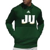 Adidas Dark Green Team Issue Hoodie-JU