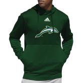 Adidas Dark Green Team Issue Hoodie-Dolphin