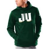 Under Armour Dark Green Armour Fleece Hoodie-JU