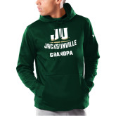 Under Armour Dark Green Armour Fleece Hoodie-Grandpa