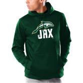 Under Armour Dark Green Armour Fleece Hoodie-Dolphin JAX