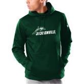 Under Armour Dark Green Armour Fleece Hoodie-Dolphin Jacksonville