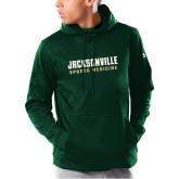 Under Armour Dark Green Armour Fleece Hoodie-Sport Medicine
