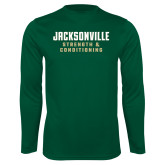 Performance Dark Green Longsleeve Shirt-Strenght and Conditioning