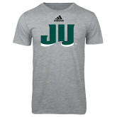 Adidas Sport Grey Logo T Shirt-JU
