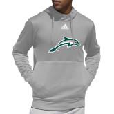 Adidas Grey Team Issue Hoodie-Dolphin