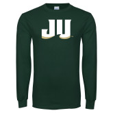 Dark Green Long Sleeve T Shirt-JU