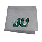Grey Sweatshirt Blanket-Official Logo