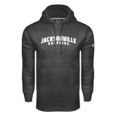 Under Armour Carbon Performance Sweats Team Hood-Jacksonville Dolphins Arched