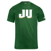 Russell Core Performance Dark Green Tee-JU