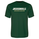 Performance Dark Green Tee-Cheerleading