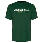 Performance Dark Green Tee-Rowing