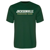 Performance Dark Green Tee-Marching Band