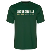 Performance Dark Green Tee-Sport Medicine