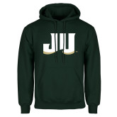 Dark Green Fleece Hood-JU