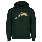 Dark Green Fleece Hood-Dolphin