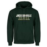Dark Green Fleece Hood-Strenght and Conditioning