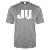 Performance Grey Heather Contender Tee-JU