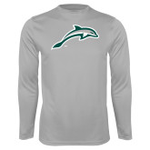 Performance Platinum Longsleeve Shirt-Dolphin