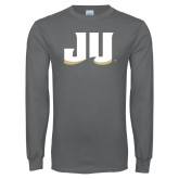 Charcoal Long Sleeve T Shirt-JU