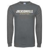 Charcoal Long Sleeve T Shirt-Athletics