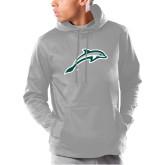 Under Armour Grey Armour Fleece Hoodie-Dolphin
